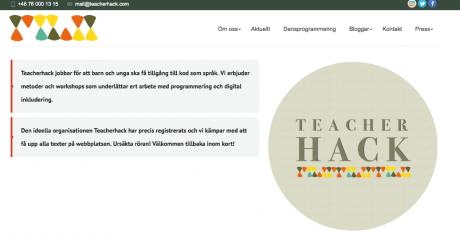 Teacherhack vill hacka läroplanen och få in programmering i skolan