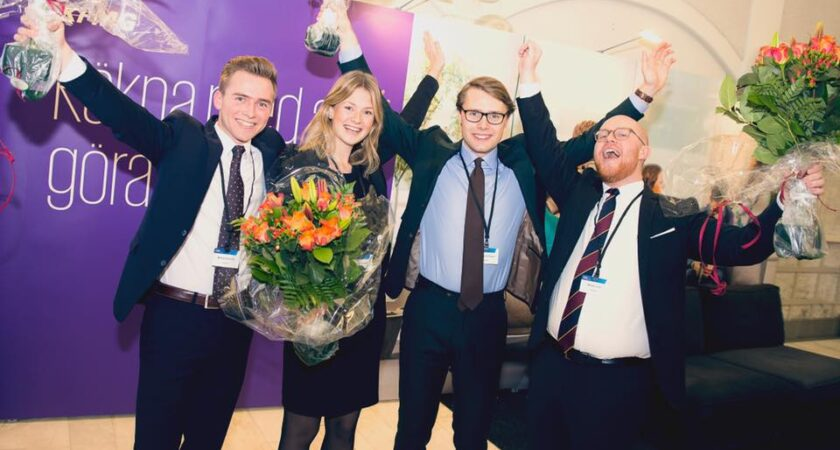 Göteborgs-studenter vann svenska finalen av KPMG International Case Competition