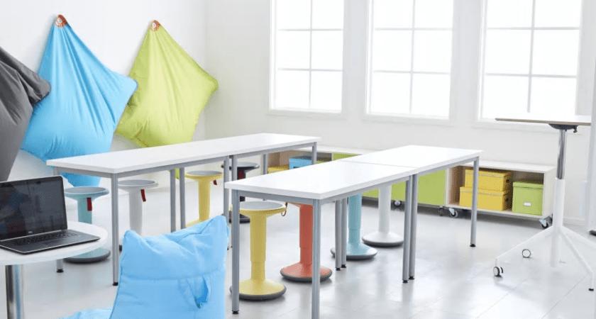 Tillsammans med White presenterar Lekolar framtidens lärmiljö på Stockholm Furniture & Light Fair 2017