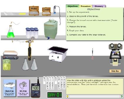 Nya vägar till lärande med virtuella laboratorier och kalkylerade utsläpp