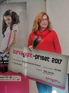 Elza Dunkels vinnare av Surfa Lugnt-priset 2017 1