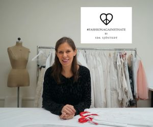 Modedesignern Ida Sjöstedt släpper exklusiv kollektion mot näthat tillsammans med Telia 1