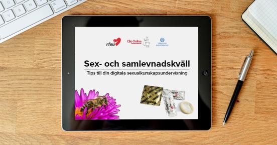 Välkommen till Clio onlines sex- och samlevnadskväll!