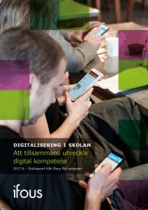 Att tillsammans utveckla digital kompetens 1