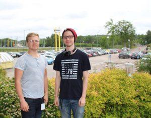 Tekniksprångarna Eric och David löste Hogias parkeringsbrist 1