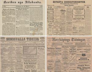 Ännu mer historiska nyheter i KB:s onlinetjänst 1