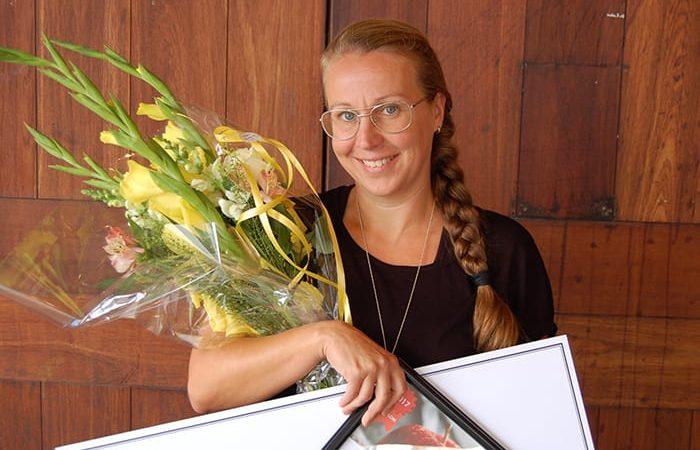 Pedagogiskt pris 2017 till gymnasieläraren Anna-Eva Olsson