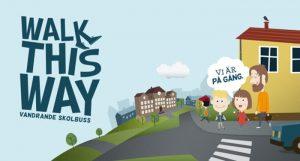 Gå eller cykla med barnen till skolan så blir de piggare och friskare! 1