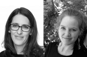 Gleerups författare, Åsa Brorsson och Tove Phillips, pristagare av Lärkan 2017 3