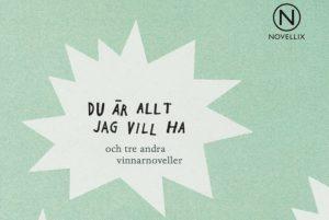 Fyra noveller av åttondeklassare blir bok efter nationell novelltävling 1