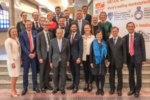 Succéresa för svensk edtech på kungligt besök i Hong Kong 1