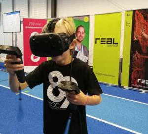 Elever från Realgymnasiet utvecklar Virtual Reality-upplevelse för Gävleborna 1
