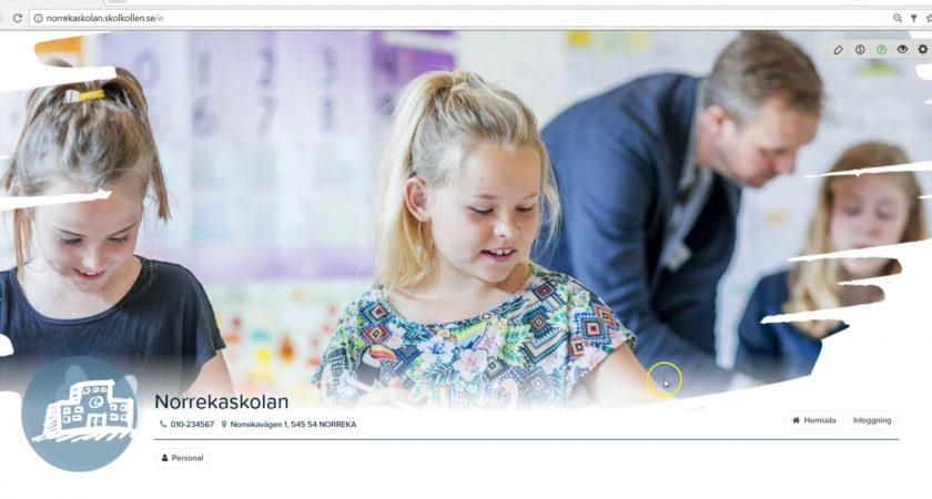 Skolkollen förenklar kommunikationen från skolan till hemmet