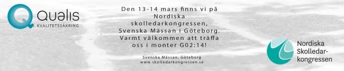 Nordiska skolledarkongressen 13-14 mars