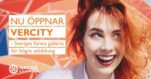 FEI samarbetspartner till VERCITY: Sveriges första galleria för framtidens lärande 1