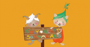 Poly och Glutt sprider vårkänslor till förskolor runt om i landet 1
