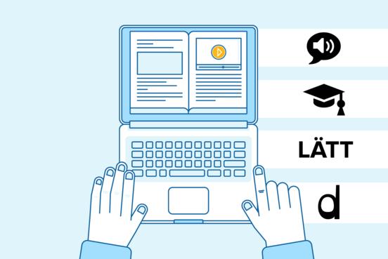 Digitala verktyg hjälper elever med läs- och skrivsvårigheter