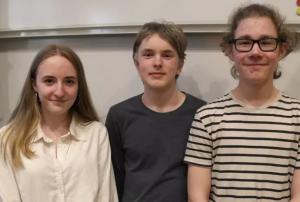 Klass 8D Minervaskolan segrare i Teknikåttans regionfinal 1