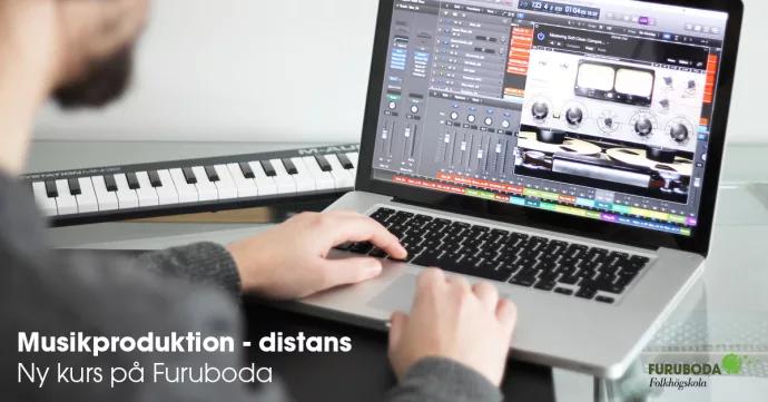 Furuboda folkhögskola startar distanskurs i musikproduktion