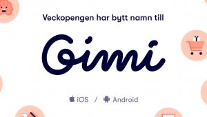 Veckopengen byter namn till Gimi, ska lansera ny app och uppdatera varumärket 1