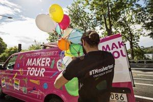 Besök Tekniska museets Maker Tour-buss under Järvaveckan 2