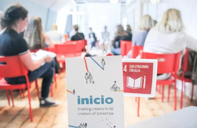 Samverkan skola och samhällsentreprenörer aktuellt för Inicio i sommar