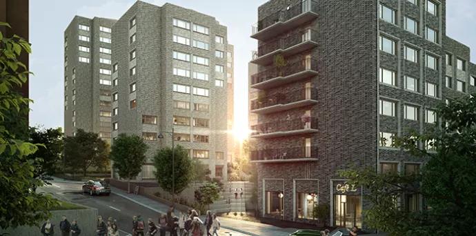 Klartecken för 480 nya studentbostäder i Stockholm