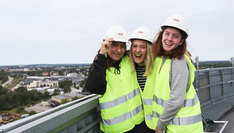 Växjö Energi erbjuder sommarkurs för tjejer