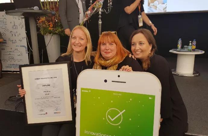 Lekolar vinnare av Årets Innovationspris i Skåne Nordost 2018