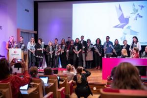 Johanna Jaara Åstrand enhälligt omvald till förbundsordförande vid Lärarförbundets kongress 3