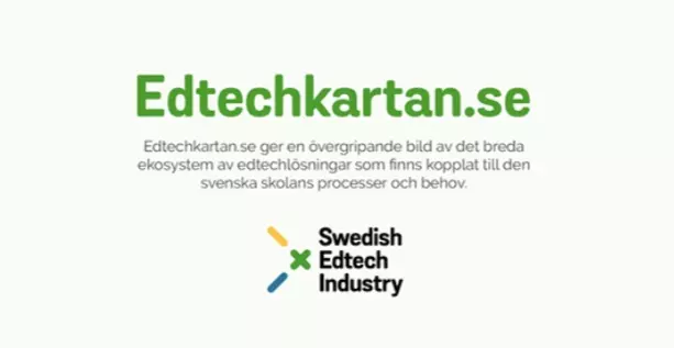 Nu lanseras Edtechkartan- kollen på skolans digitala ekosystem