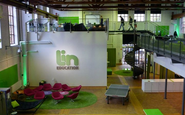 Lin education blir officiell partner till Bett Show