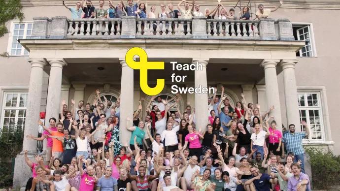 Nu är ansökan öppen till Teach for Swedens ledarskapsprogram!