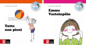 Natur & Kultur tillgängliggör Totte och Emma-böckerna på det nationella minoritetsspråket meänkieli 2