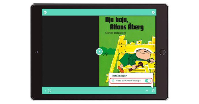 Nya funktioner i Polyglutt – bilderbokstjänsten för förskolan nu ännu bättre