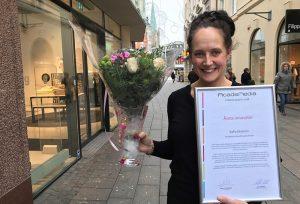 Sofia Ekström är årets innovatör inom AcadeMedia 1
