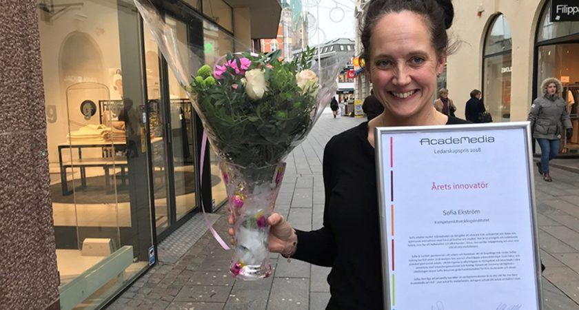 Sofia Ekström är årets innovatör inom AcadeMedia