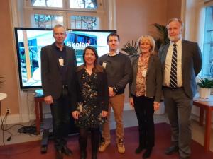 Lärande talar i riksdagen: skola och bransch i samarbete – en riktig framgångssaga! 1