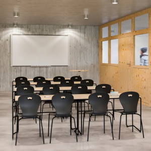 Lekolar lanserar elevstol av 100 % återvunnen returplast 1
