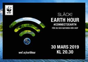 Agera för klimatet, naturen och arterna under Earth Hour 3