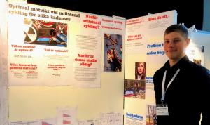 Forskningspris till elev från Hagströmska Gymnasiet Falun 1