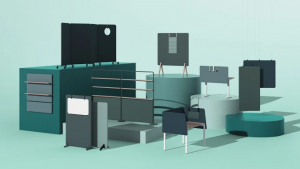 Kinnarps lanserar VIBE- den kompletta skärmserien 3