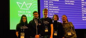 Elever från NTI Gymnasiet Örebro i topp på Hack for Sweden 2
