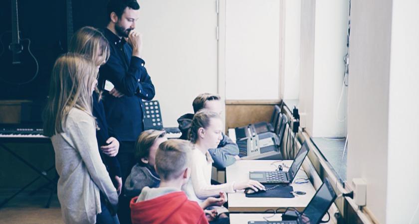 Västeråsklass vinnare av programmeringsdag