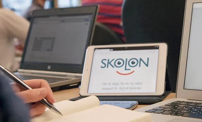 Lärande i Sverige utökar användningen av Skolon för alla skolor i Lärandegruppen
