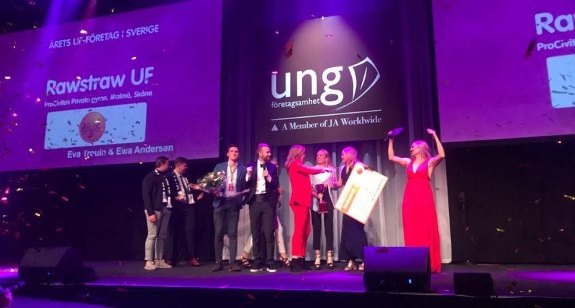 Storslam för ProCivitas elever på SM-finalen i Ung företagsamhet