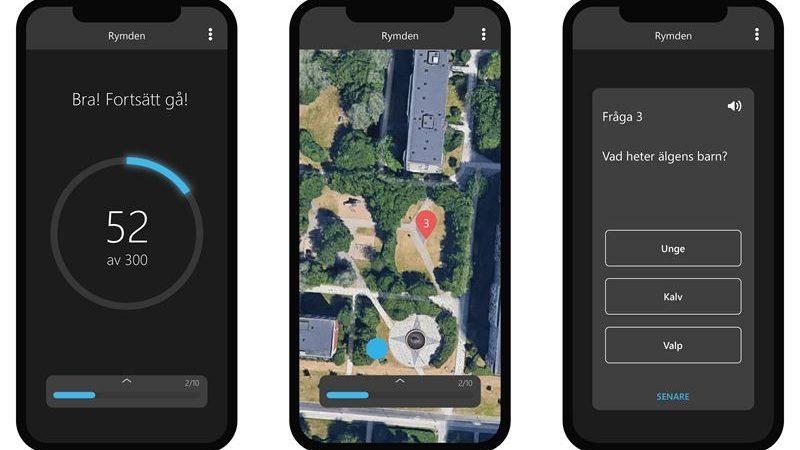 Semcon utvecklar nytt spel för läxläsning i rörelse