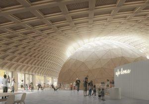 Elding Oscarson ritar Stockholms smartaste hus i trä vid Tekniska museet 2