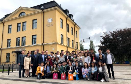 Framgångsrikt spelsamarbete mellan svenska och kinesiska studenter