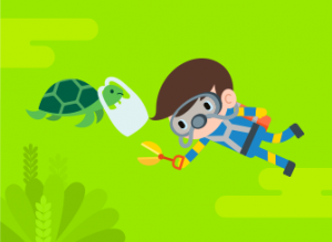 Nytt spel lär 2–6-åringar ta hand om djuren och miljön 3